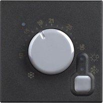 Classia termostat sobni 2M crni