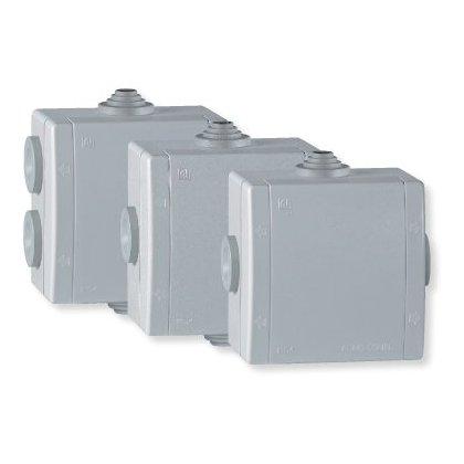 Razvodna kutija za na zid 80x80 IP 54 500V - siva