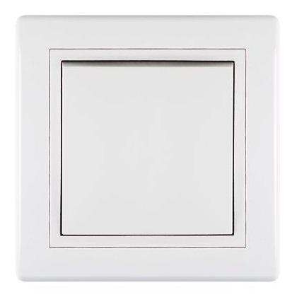PRESTIGE PREKIDAČ- jednopolni beli art.605