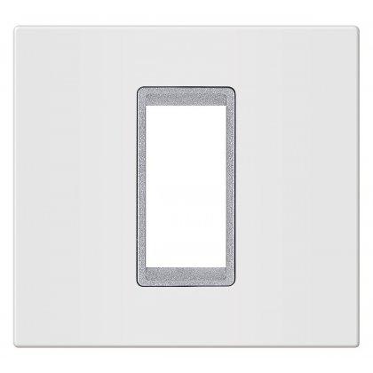 EXP Maska 1M BASIC, bela/silver