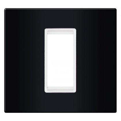 EXP Maska 1M BASIC, crna/bela