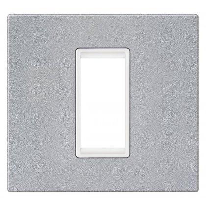 EXP Maska 1M BASIC, silver/bela