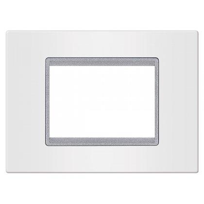 EXP Maska 3M BASIC, bela/silver