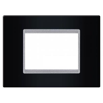 EXP Maska 3M BASIC, crna/silver