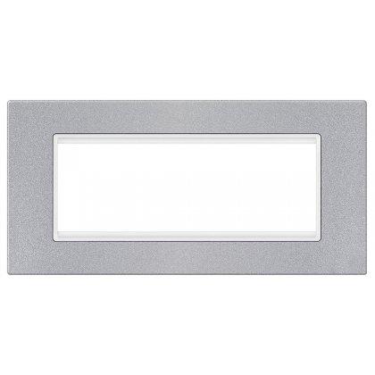 EXP Maska 6M BASIC, silver/bela