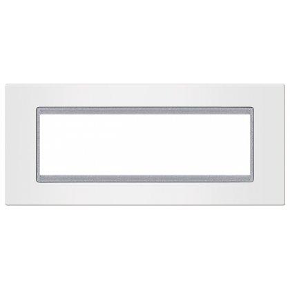 EXP Maska 7M BASIC, bela/silver