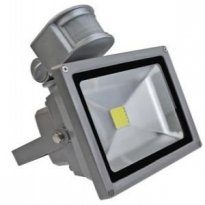 REFLEKTOR LED 10W +senzor