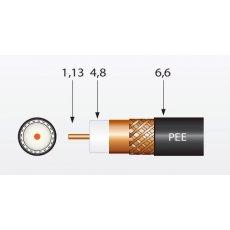 Koaksijalni kabl RG6 T100/2155 PE
