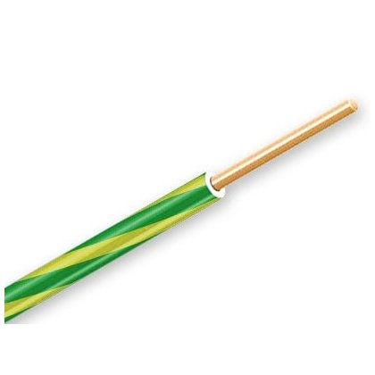 ŽICA PVC 4 mm žutozelena
