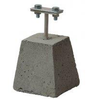 Potpora za vod sa betonskom kockom PSK
