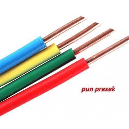 ŽICA PVC 6 mm žutozelena