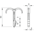 OBO TIPL za 2 KABLA 12-25mm