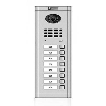 Tastatura C/B kam. sa 8 tastera CM-02N-08 C/B SILVER
