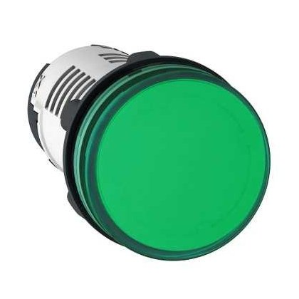 SIJALICA 220V AC LED zelena