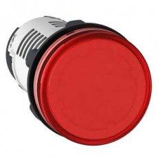 SIJALICA 24V ACDC LED crvena